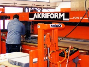 Complete quality control at Akrirform with in-house production