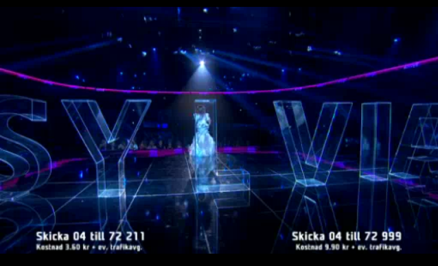 2 Slyvia custom work from Eurovision SongContest 2013 e1361789943787 Akriform i Melodifestivalen 2013   Akriform