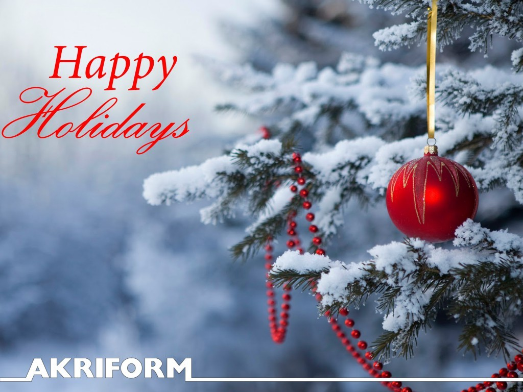Happy Holidays english 1024x768 Akriform Closed: December 23rd   January 6th   Akriform