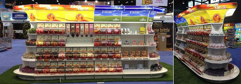 Akriform and Candy People partner to present bulk candy and bulk merchandising for the 2014 Sweets and Snacks Expo