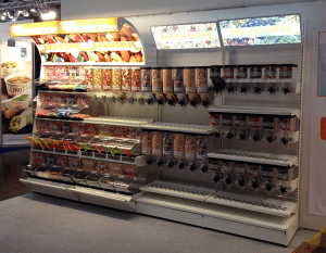 Akriform EuroShop 2014_ Knockdown Gondola Merchandsing Display racks