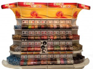 Candy People Confectionery and Quickbox Display System in Dubai Gul Foods Expo white background 300x225 Färdigmonterade Ställ   Akriform