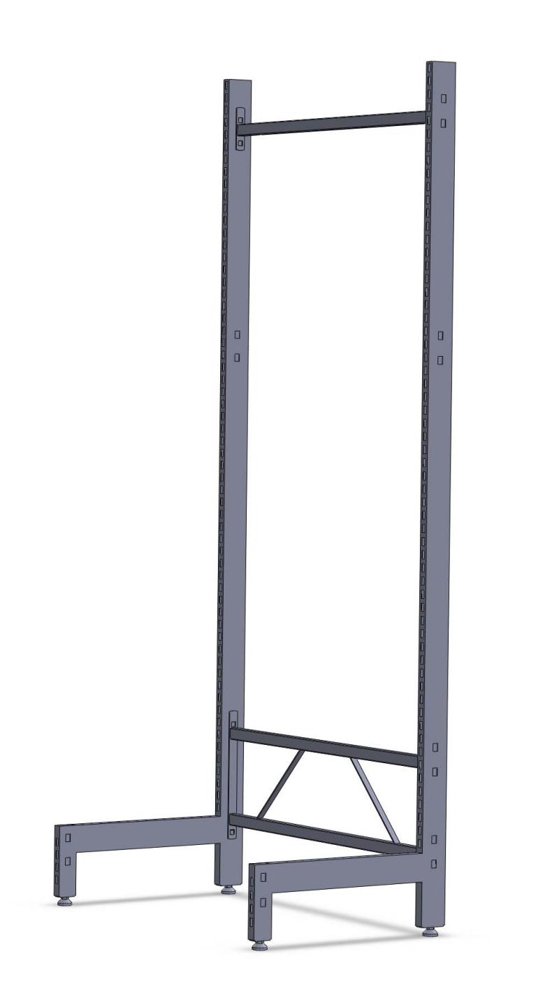 L Display Gondola Rack