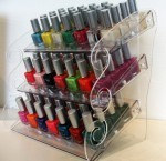 Nailpolish display 150x145 Acrylic Cosmetic Displays: 6 Creative Ideas for Increasing Sales   Akriform