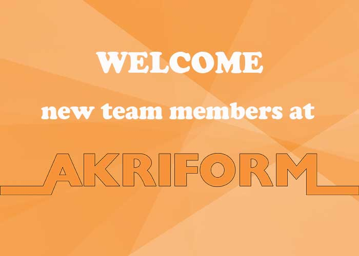 Akriform new team members