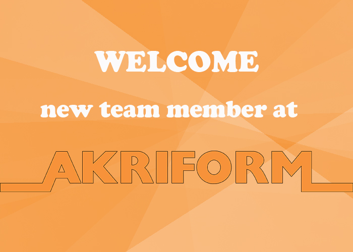 Welcome new team member