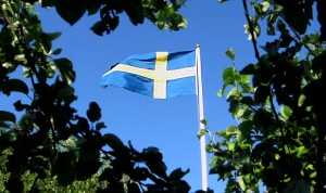 Svenska flaggan1 300x178 Closed for National Day of Sweden   Akriform
