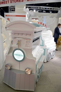 Concession train ISM 2017 580 px1 200x300 Candy Displays   Pictures from ISM Cologne 2017   Akriform