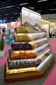 Pribox ISland 3 ISM 2017 580 px1 198x300 Candy Displays   Pictures from ISM Cologne 2017   Akriform
