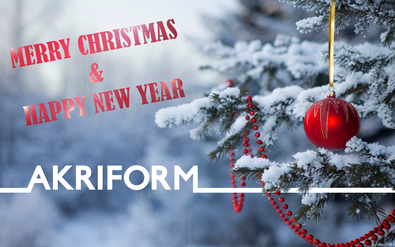 Merry Christmas from Akriform