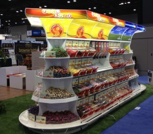 Akriform and Candy People partner to present bulk candy and bulk merchandising for the Sweets and Snacks expo