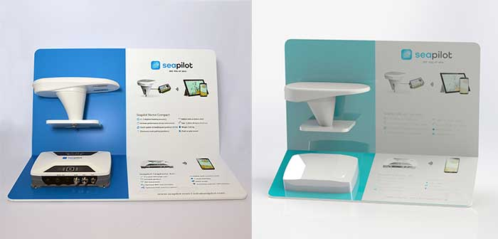 Wall mounted product display