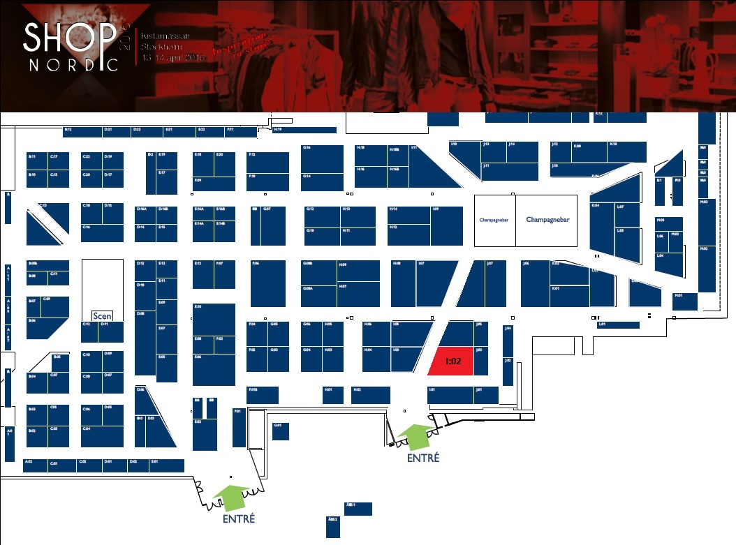 Shop Nordic hallplan