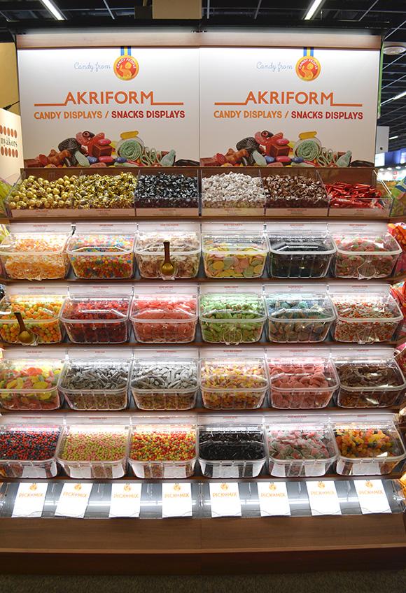 Candy bins pick & mix