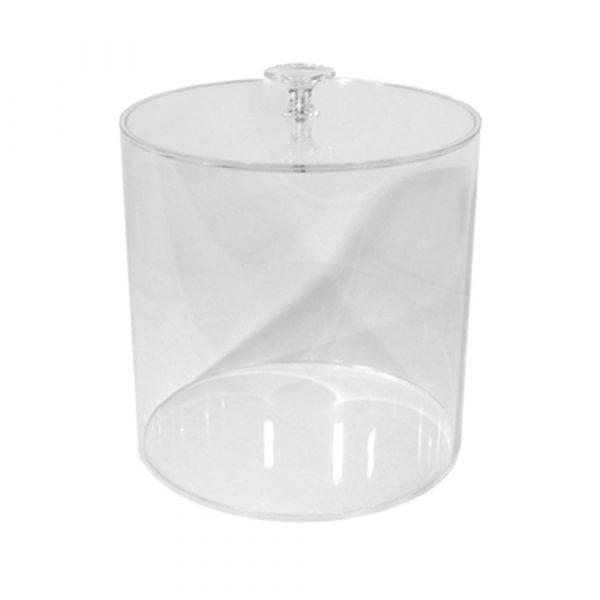 Runda skålar/lock i akryl