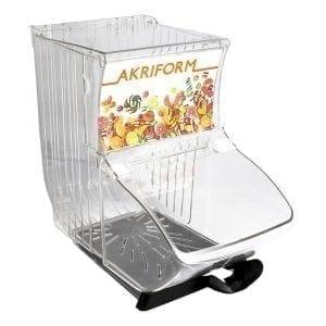 1720156-1 Quickbox burk med 1 skedhållare