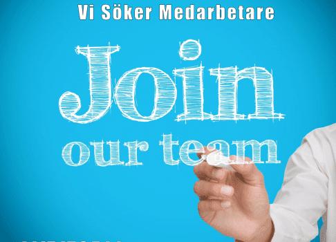 Vi söker nya medarbetare
