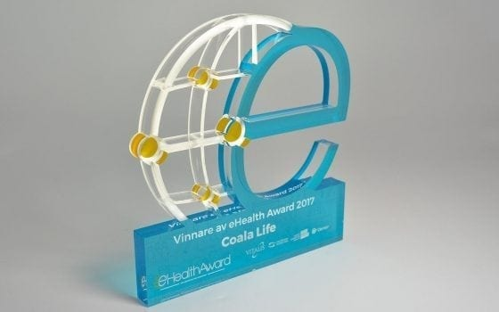Plastfigur e-Health Awards