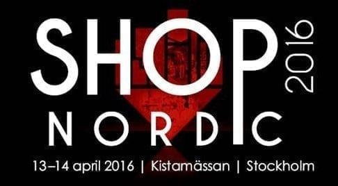 Ställer ut på Shop Nordic