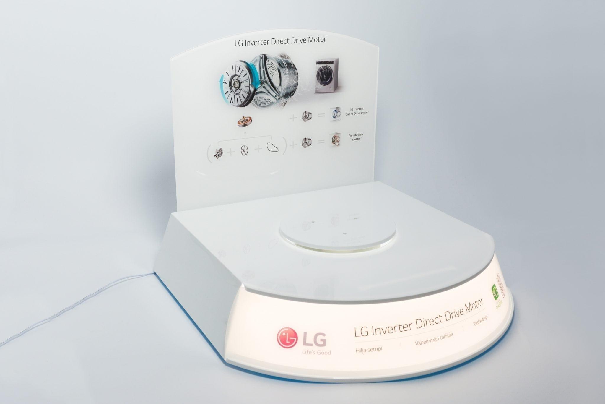 LG product display
