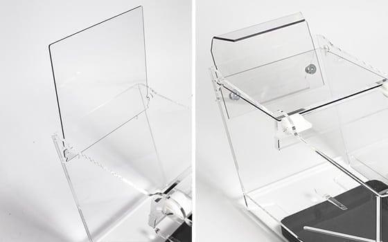 Limmad Pribox med plocklock och bakkrok