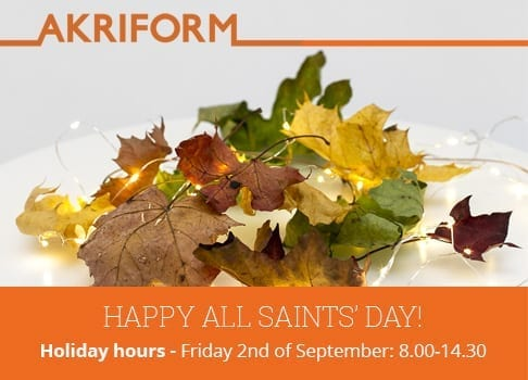 Happy All Saints' Day!