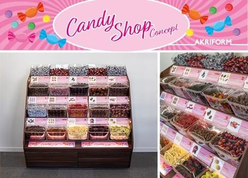 Nyhet! Candy Shop Concept